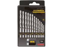 Jogo de Brocas e Bits Hammer 13 peças GYKB13PPF - com Estojo