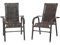 Jogo de Cadeiras para Área Externa Famais - Bela 2 Peças
