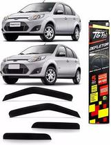 Jogo de Calha Chuva Ford/Fiesta hatch/Sedan 4 Portas 02/09 TG Poli 21005 -