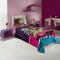Jogo de cama 3 Peças Monster High 4982801 Lepper -