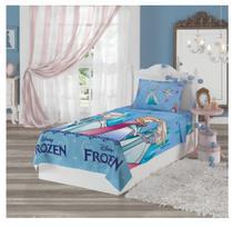 5284cf7273 Jogo De Cama Infantil Frozen 2 Peças Lençol Com Fronha Lepper -