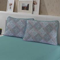 Jogo de Cama King 3 peças de Malha 100% algodão Edromania Verde Granada -