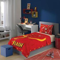 Jogo De Cama Liga Da Justiça The Flash 3 Peças Lepper -