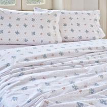 Jogo de cama solteiro  Artex  180 fios 3 peças Rebeca -