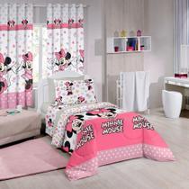 fdfb642ef4 Jogo de Cama Solteiro Santista Minnie Happy - Disney