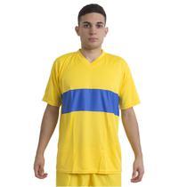 Jogo de Camisa Boca Jrs 14 de Linha e 1 Goleiro Ref 9025 - Play fair