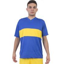 Jogo de Camisa Boca Jrs 14 de Linha e 1 Goleiro Ref 9027 - Play fair