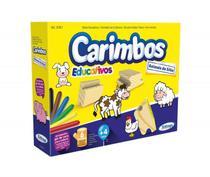 Jogo De Carimbos Ilustrado Animais do sitio Xalingo -