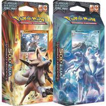 Jogo de Cartas Pokémon Sol e Lua Starter Deck Sombras Ardentes Copag -