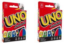 Jogo de Cartas UNO Kit 2 Unidades - Combo