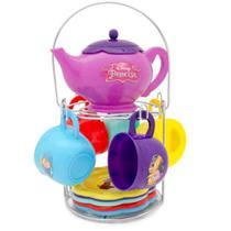 Jogo de chá com suporte princesas disney - toyng 30029 -