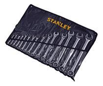 Jogo de chave combinada 6 a 32mm 15pcs stanley stmt80934-840 -