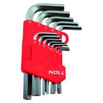 Jogo de Chaves Allen 13 peças 1,3 a 10,0mm 374,0003 NOLL -