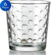 Jogo de Copos para Whisky Awa 384ml 6 peças - Crisa -