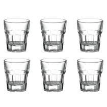 Jogo de copos shot vidro Dynasty Dover 45ml 6 peças -
