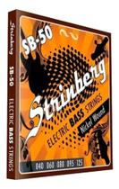 Jogo De Cordas Contra Baixo 5 Cordas Strinberg Sb50 Sb-50 -