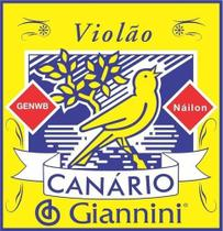 Jogo De Cordas Nylon  Para Violão  Giannini Canário -