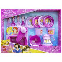 Jogo de Cozinha com Mini Pia e 12 Acessórios Princesas Disney - Toyng -