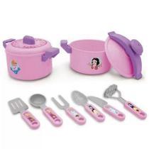Jogo De Cozinha Infantil Com Panela De Pressão - Princesas Disney - Toyng -