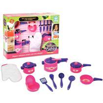 Jogo De Cozinha Infantil Panelinhas Arroz E Feijão - Nig - Nig Brinquedos