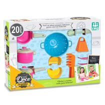 Jogo De Cozinha Infantil Panelinhas Doce Cozinha - Nig - Nig Brinquedos