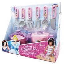 Jogo de Cozinha Plástico Panela Pressão Princesas - Toyng -