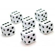 Jogo De Dados 16 Mm - Euclides Jordão - 6 Unidades -
