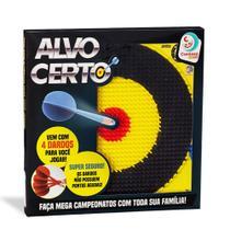 Jogo de Dardos Alvo Certo Com 4 Dardos - Cardoso Toys