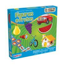 Jogo de Dominó Figuras e Frutas - Ciabrink