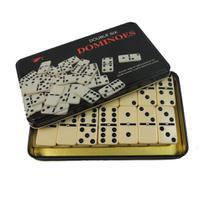 Jogo de Dominó Profissional com 28 peças - Estojo em Metal - Orion