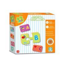 Jogo de Encaixe Descobrindo o Alfabeto - Nig Brinquedos -