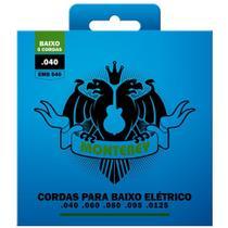 Jogo De Encordoamento P/ Baixo 5 Cordas 040 Monterey by Solez -