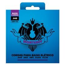 Jogo De Encordoamento P/ Baixo 5 Cordas 045 Monterey by Solez -