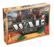 Jogo de Estratégia Tabuleiro War Vikings Grow 3450 -