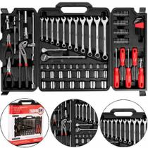 Jogo de ferramentas com maleta dobrável 110 peças - Nove54 -