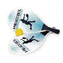 Jogo de frescobol - free balls azul (4617) - Junges