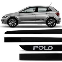 Jogo De Friso Lateral Slim Polo Hatch Sedan 02 a 15 Novo Polo 18 a 20 Black Piano Grafia Original - Nk Brasil