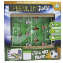 Jogo de Futebol de Mesa Pebolim Júnior Totó - 139408 - Ark toys -