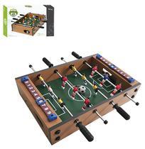 Jogo de futebol toto / pebolim 34,5x23x7cm na caixa - Wellmix