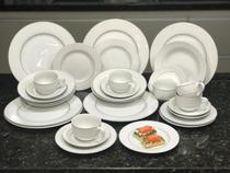 Jogo de Jantar 30 Peças Porcelana Fina 915 Class Home -