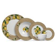 Jogo de jantar decorado positano c/20 peças primeira linha - Alleanza Cerâmica