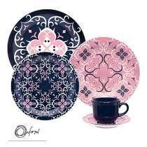 Jogo de Jantar e Chá 20 Peças Oxford Linha Hana -