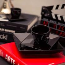 Jogo De Jantar Prato Quartier Black - 20 Peças - Oxford -
