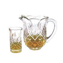 Jogo de jarra e copos em cristal Studio Crystal STC7024 -