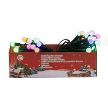 Jogo de Luzes De Natal 40 Lâmpadas Coloridas - Chibrali -