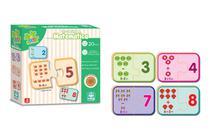 Jogo de Madeira Aprender Matemática 20 peças - Nig