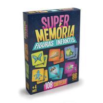 Jogo de Memória Figuras Infantis - Grow -