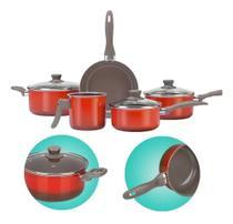 Jogo de panelas ceramic easy life 5pcs 4789/109 brinox -
