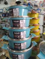 Jogo de panelas ceramica Javali -