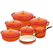 Jogo de Panelas com Revestimento Ceramico Le Cook -